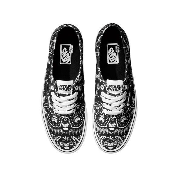 Vans X Star Wars Iconic Colourful Printed Shoes