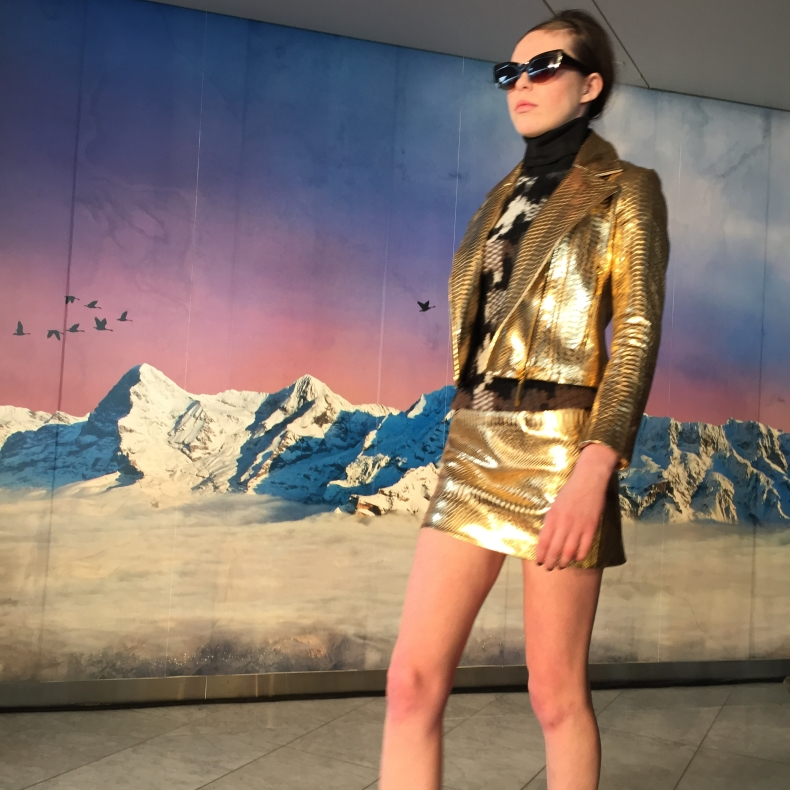 Ethologie-LFW-2015-gold-jacket-and-skirt