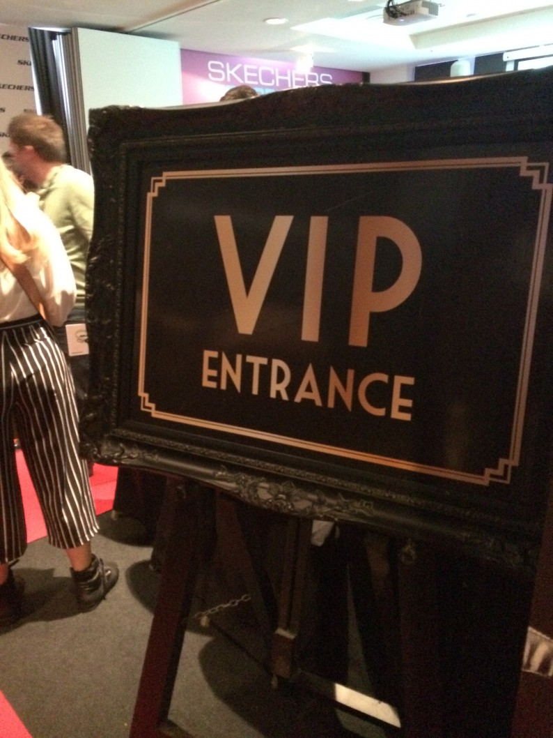 VIP Access - behind the scenes at schuh