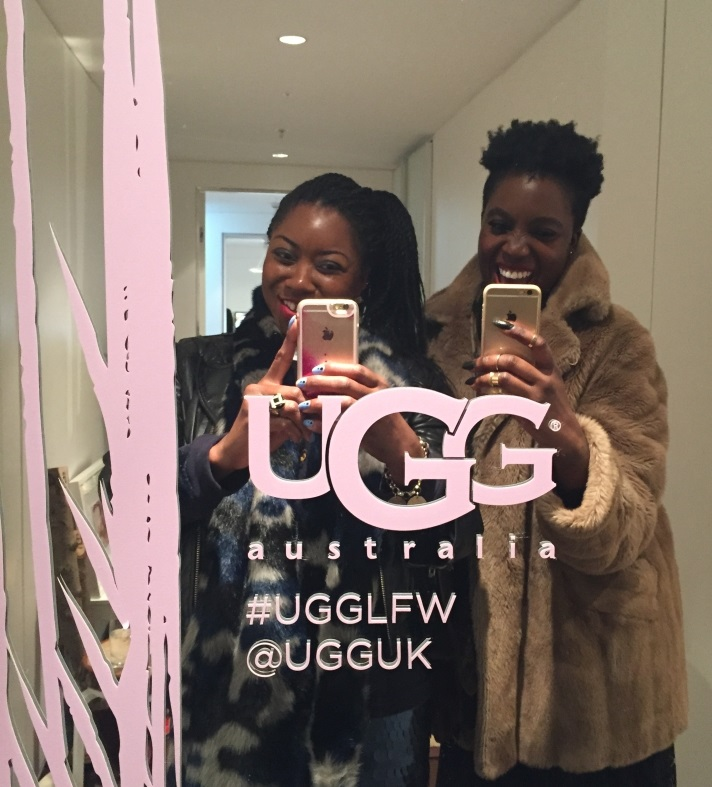 UGG-Sanctuary-LFW-2015-mirror-selfie