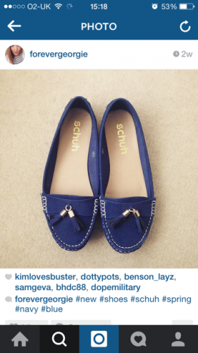 womens-navy-regatta-flat-shoes