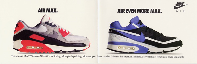 official photos 5dad2 bef2d Nike Air Max - retro ad campaigns