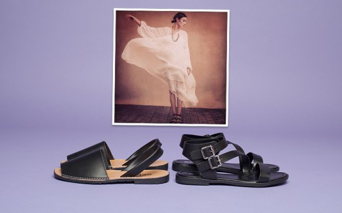 Alexa Chung - get the look with schuh Vacation and Barcelona sandals
