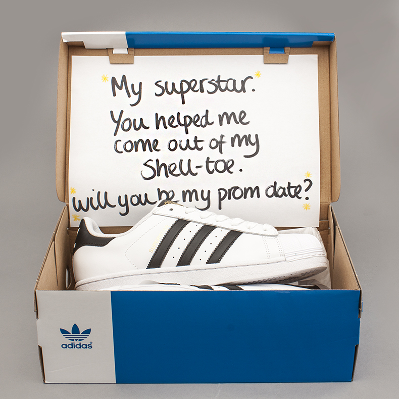 mens white and black adidas superstar trainers