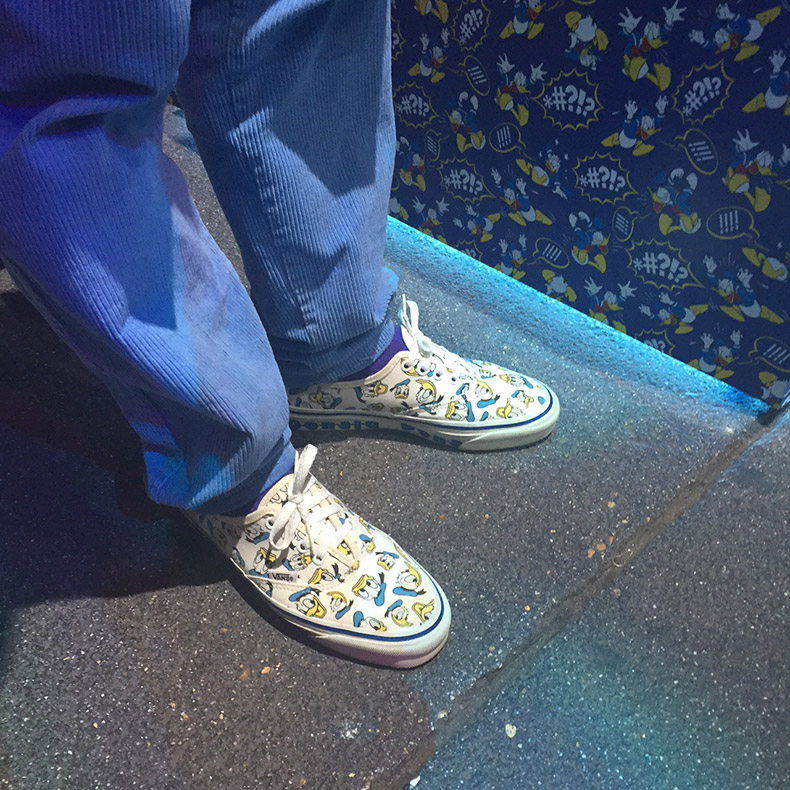 Donald Duck authentic trainers from Disney x Vans