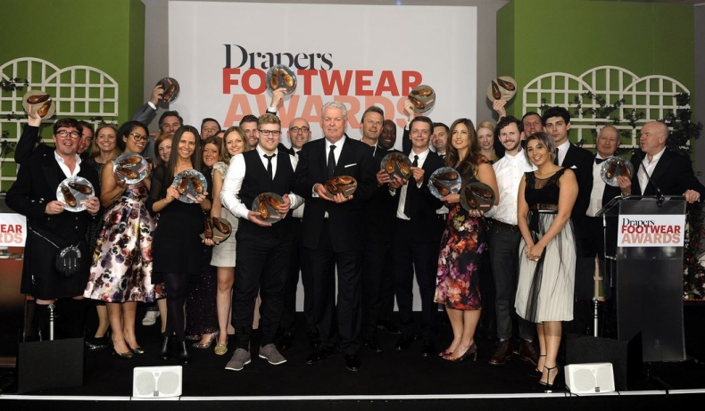 group picture drapers footwear awards