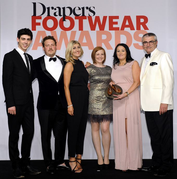 schuh drapers footwear awards collection