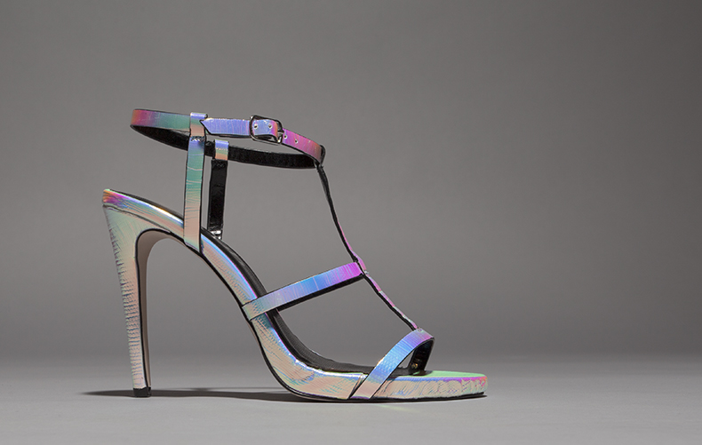 womens silver and iridescent  high heels  from schuh