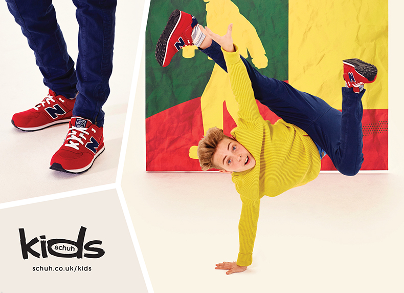 schuh kids autumn/winter campaign