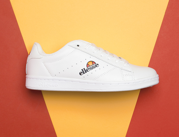 white ellesse anzia trainers at schuh