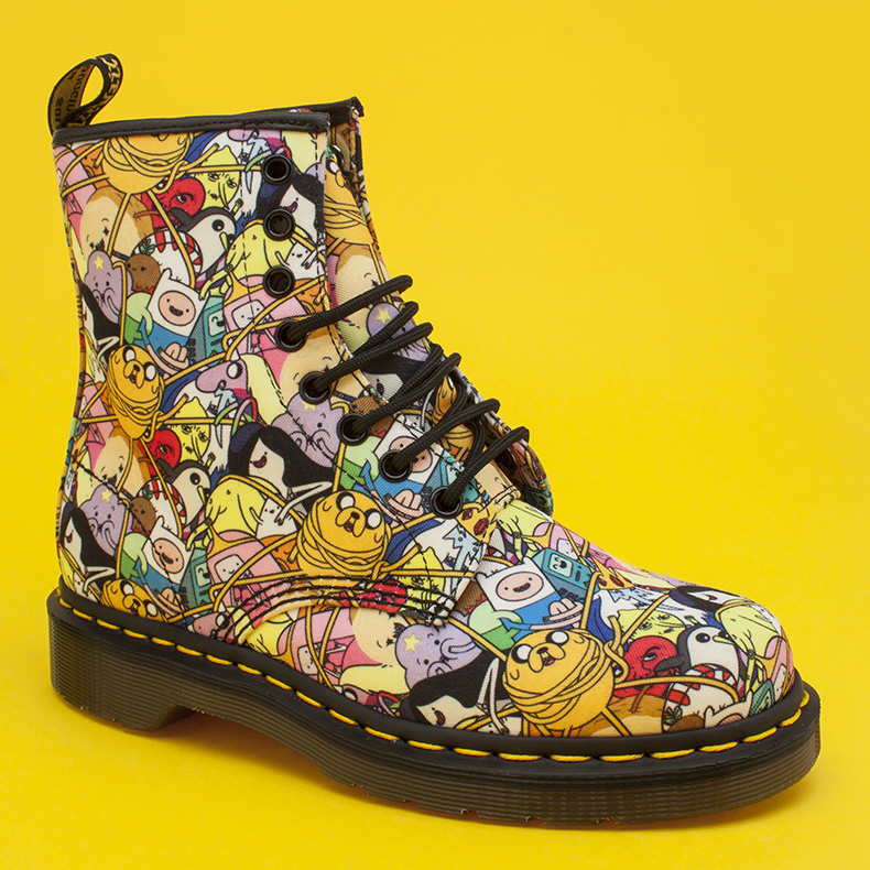 dr martens multi castel adventure time toon boots at schuh