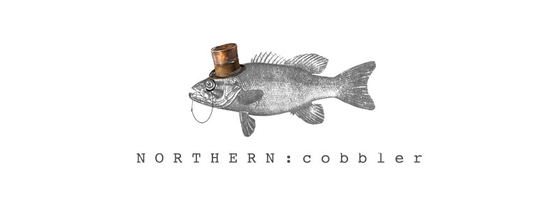 english brand northern cobblers fish with hat logo for the schuh blog