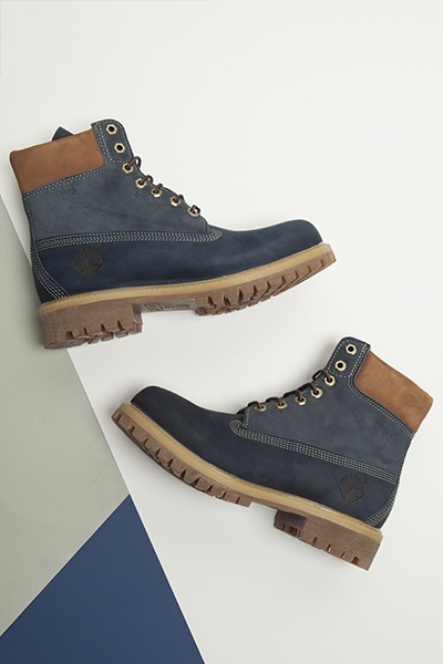 Timberland blue 6 inch blueberry muffin boot