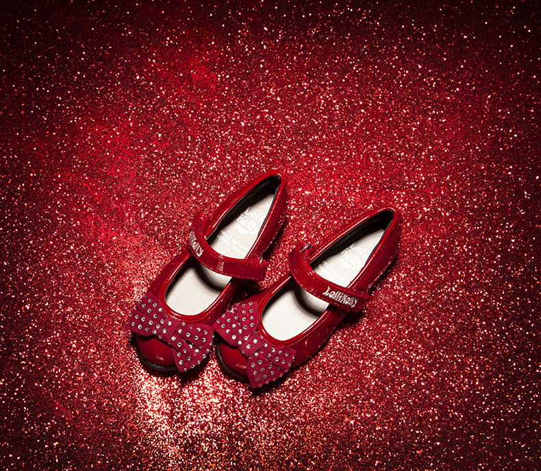 Lelli Kelli Camilla red party shoes for girls