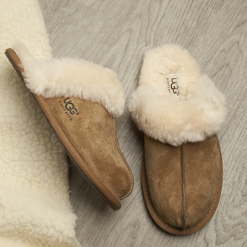 womens ugg australia tan scuffette slippers