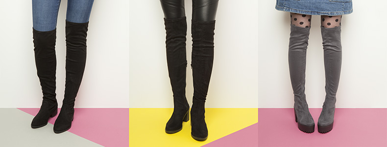 5d3465b75bef over-the-knee-grey-black-boots-flat-chunky-