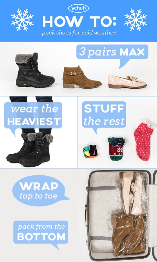 how to pack for winter weather