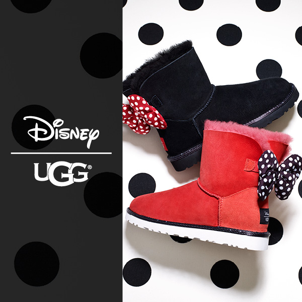 f2c2b51e28c Kids UGG Disney Minnie Mouse | schuh blog