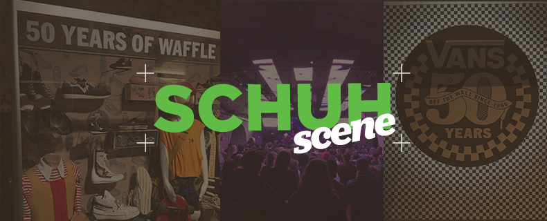 schuh scene Vans 50th anniversary party blog header
