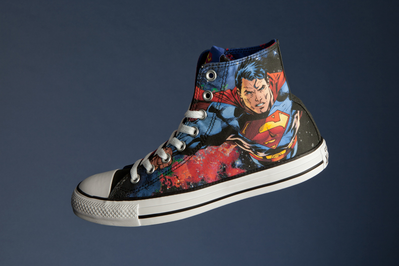 superman comic converse