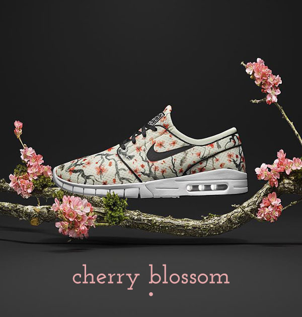 womens nike sb stefan janoski max cherry blossom floral trainers schuh blog
