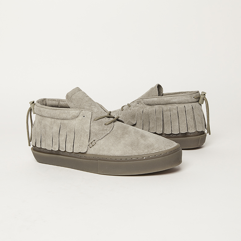 clear weather light grey suede one-o-one trainers