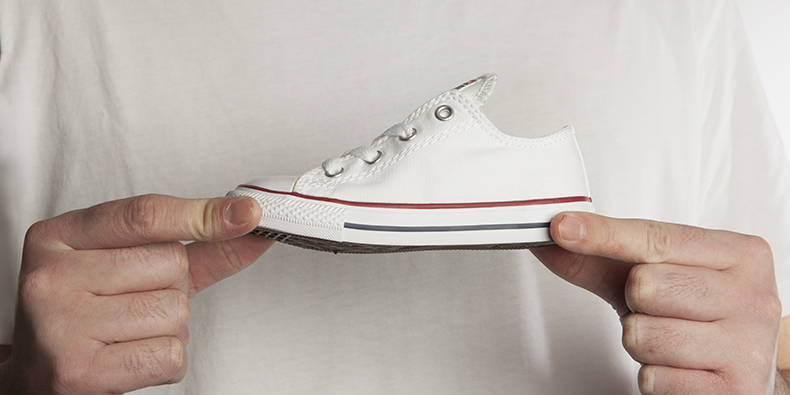 converse white and red all star oxford kids