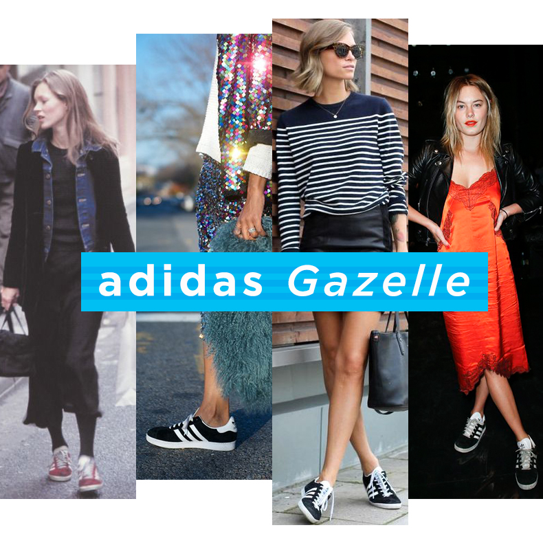 how to wear adidas gazelle trainers