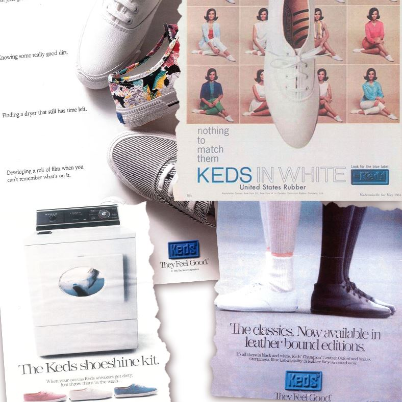 keds ad campaigns 1960s - 2000s