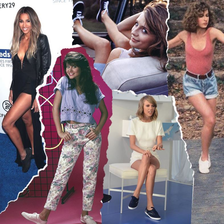 keds trainers celebrity fans