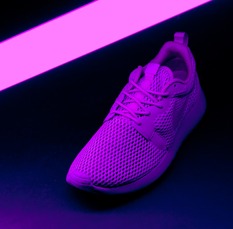 womens nike roshe one hyperfuse purple trainers