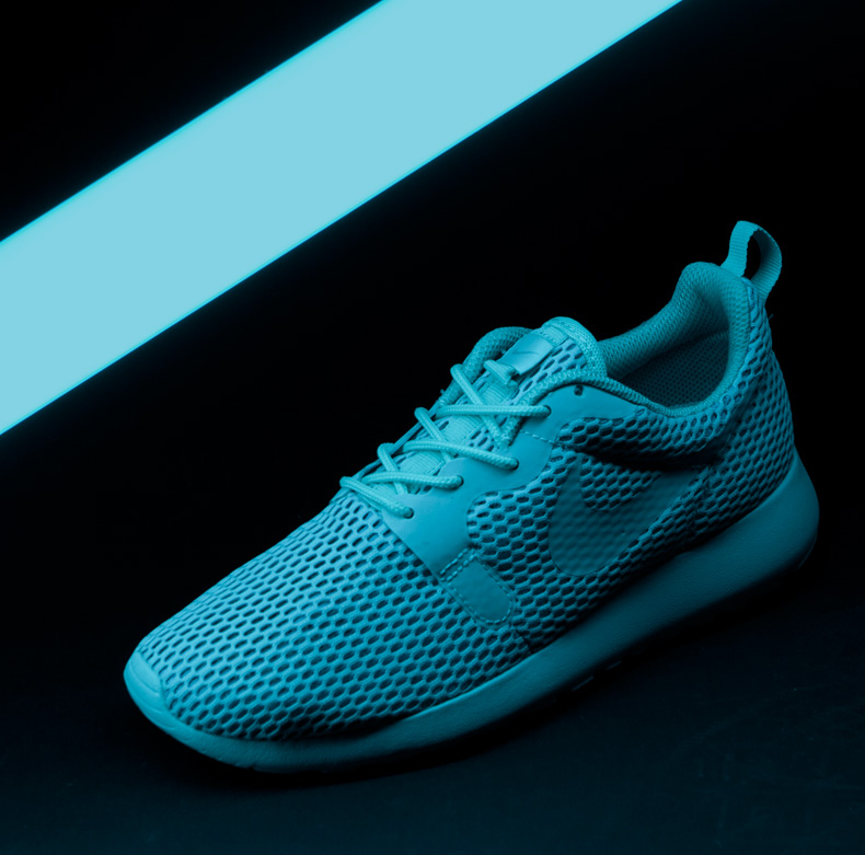 womens nike roshe one hyperfuse turquoise trainers