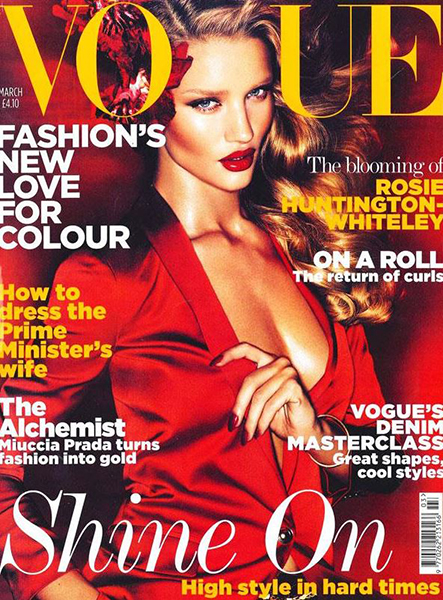 rosie huntington whiteley british vogue 2011