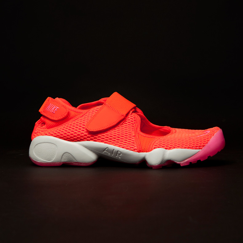 Nike Air Rift Breathe schuh orange