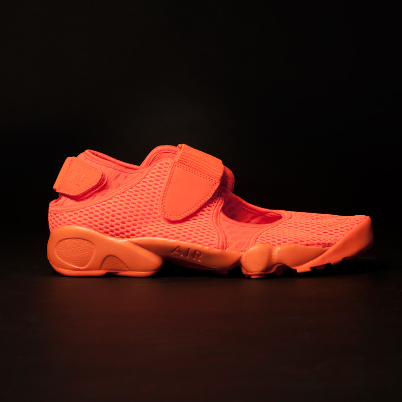 Nike Air Rift Breathe schuh orange mens