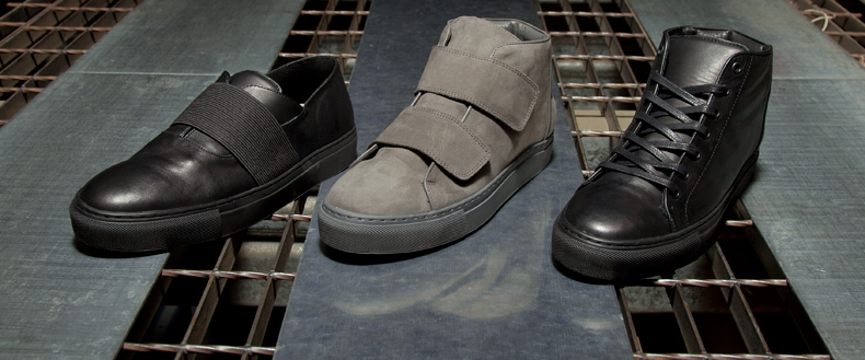 mens momentum melbourne boots and slip-on shoes in black and grey on the schuh blog