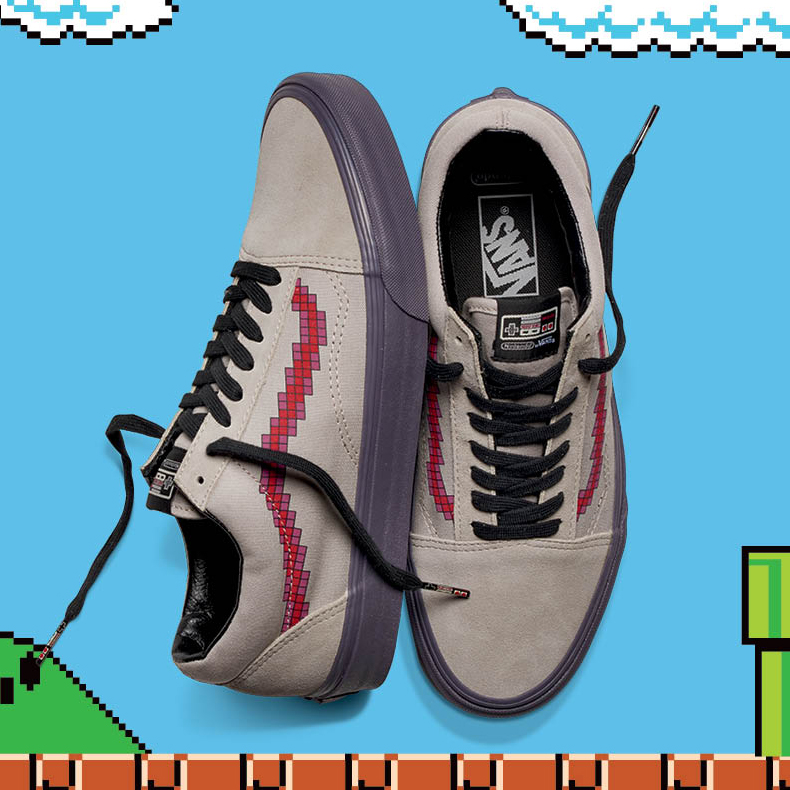timeless design b2321 f1dad Vans X Nintendo is loaded and waiting...