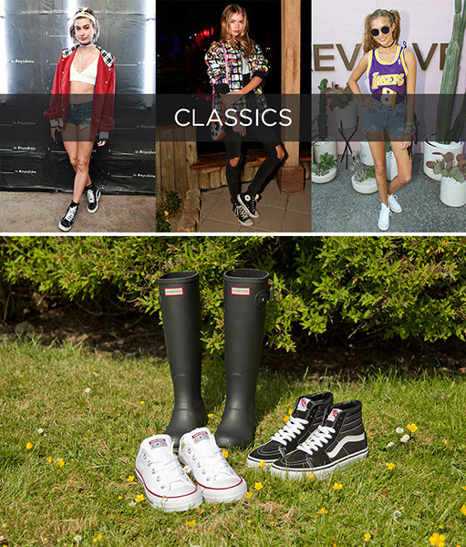 schuh festival style guide classics vans hunter and converse