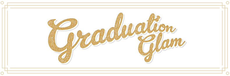 graduation glam blog header schuh