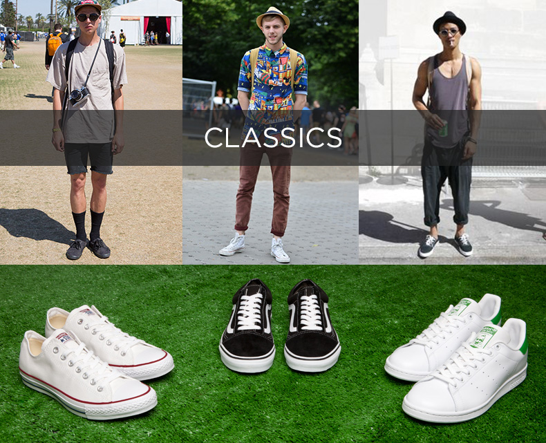 classic festival trainers converse vans and adidas