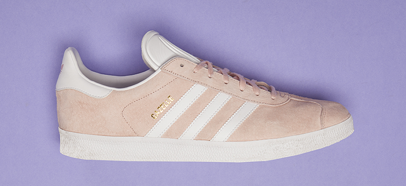 adidas gazelle mens pink trainers
