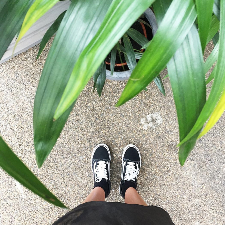 Vans Old Skool Black & White Trainers - @chemsquier