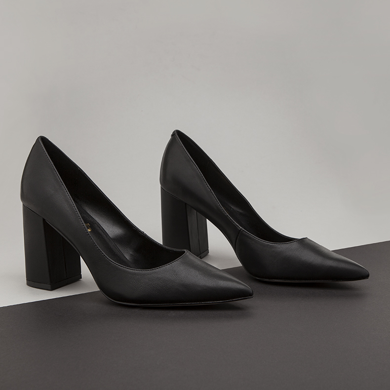 womens schuh black tonight high heels black pumps with block heel on minimalist blog