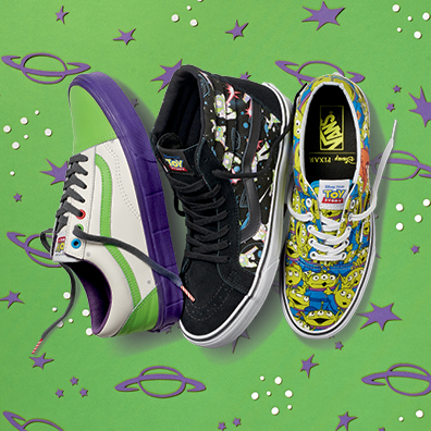Toy Story Buzz Lightyear and Aliens lines