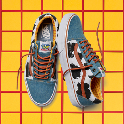 Toy Story Vans Old Skool in woody print