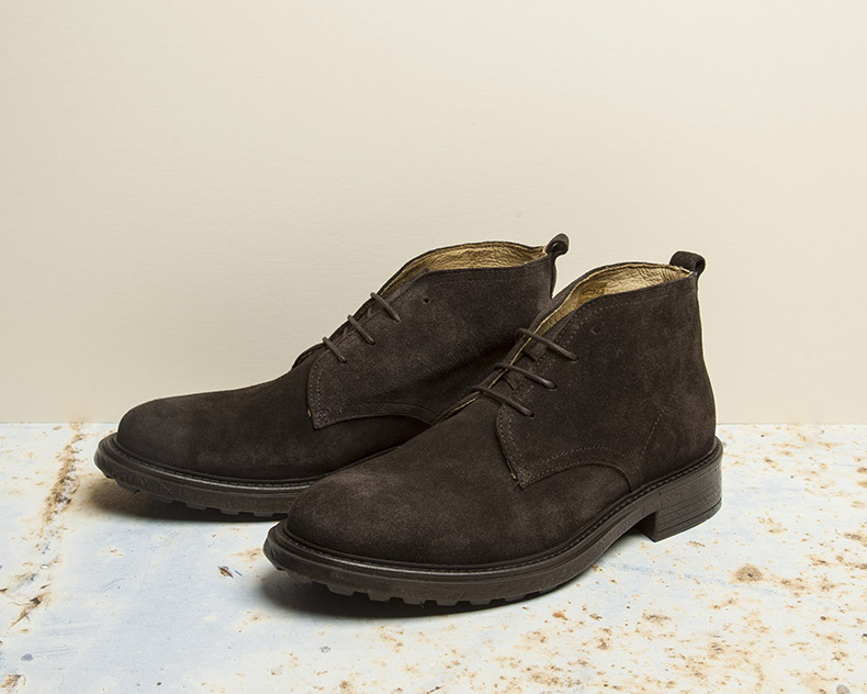 mens h by hudson brown chukka boots