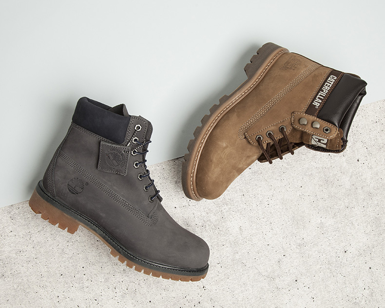 mens winter boots from timberland and cat footwear at schuh