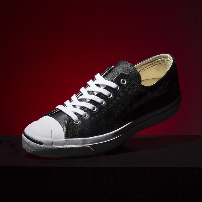 mens black converse jack purcell trainers schuh