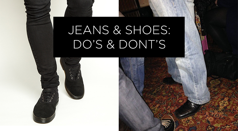 jeans and shoes header