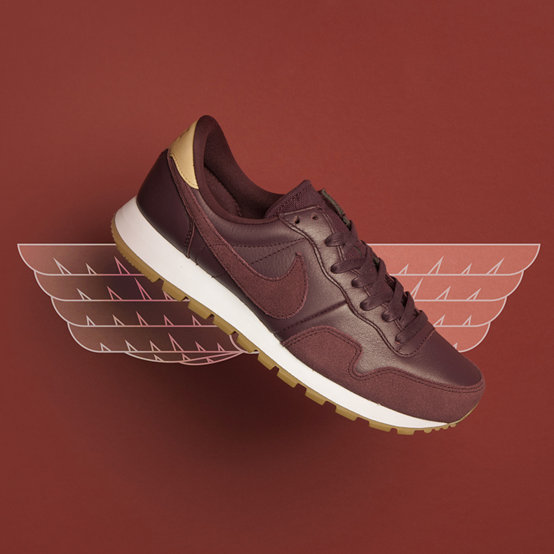 nike pegasus mens burgandy trainers